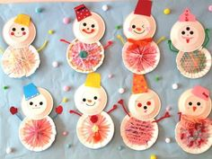 Craft Projects For Kids, Arts And Crafts Projects, Diy And Crafts, Simple Christmas, Winter Christmas, Xmas Drawing, Christmas Crafts For Adults, Bear Crafts, Creative Arts And Crafts