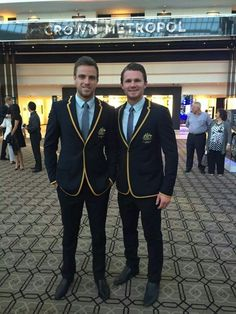 Bodie Smith and Patrick Dangerfield