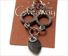 The Return of the King pendant #Giveaway by Lefty's Art Wear! Deadline to enter is December 30, 2012 at 11:59pm EST.
