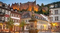 Schloss und Altstadt von Heidelberg