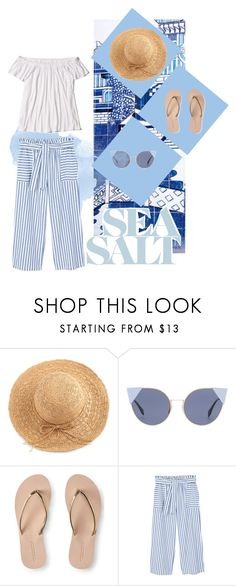 """""""Untitled #9"""" by deichaac on Polyvore featuring WithChic, Fendi, Aéropostale, MANGO and Hollister Co."""