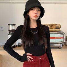 Korean Daily Fashion - Official Korean Fashion Korean Outfit Street Styles, Korean Street Fashion, Airport Fashion, Korean Couple, Korean Girl, Korean Ulzzang, Daily Fashion, Fashion Online, Fashion Sets