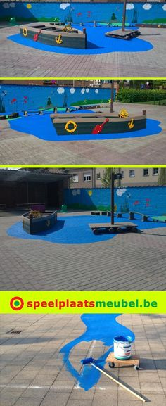 E-mail - Elke Geelen - Outlook Playground Painting, Playground Games, Playground Design, Outdoor Playground, Outdoor Learning, Outdoor Activities, Preschool Garden, Outdoor Play Areas, Outdoor Classroom