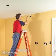 fishing electrical wire through walls dave s things pinterest rh pinterest com Ceiling Fan Wiring Colors Basic Wiring Ceiling Light