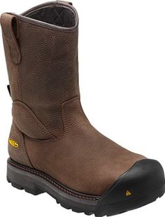 Milwaukee Wellington for Men Leather Men, Leather Boots, Pull On Work Boots, Composite Toe Work Boots, Corral Boots, Steel Toe Work Boots, Justin Boots, Dress With Boots, Western Boots