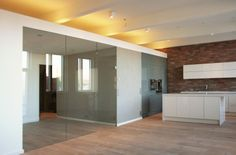 Creative architectural and interior design studio based in Helsinki. Apartment Interior, Lighted Bathroom Mirror, Apartment Renovation, Brick Wall, Home, Interior, Brick, Renovations, Interior Design Studio