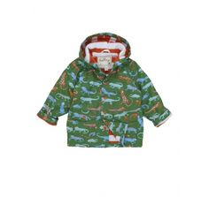 Crazy Lizards Raincoat  at Wellies and Worms
