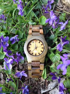 Spring is coming! It's time to buy a green wooden watch!!! #whb #whoodbrooklyn