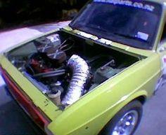 (my 128) Engine bay