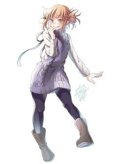 My Hero Academia - Himiko Toga Boku No Hero Academia, My Hero Academia Memes, Hero Academia Characters, My Hero Academia Manga, Anime Characters, Yandere Girl, Animes Yandere, Himiko Toga, Hero Girl