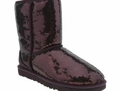 ugg australia Burgundy Classic Short Sparkles If you thought that winter boots had to be dull, think again. Let UGG Australia put some sparkle back in your step with the Classic Short Sparkles, as it arrives in burgundy. The sequinned upper and g http://www.comparestoreprices.co.uk/womens-shoes/ugg-australia-burgundy-classic-short-sparkles.asp
