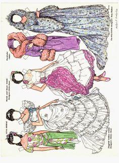 17 september 2014 - Ulla Dahlstedt - Álbumes web de Picasa * free paper dolls 1500 international artist Arielle Gabriel's The International Paper Doll Society for paper dolls pals at Pinterest *