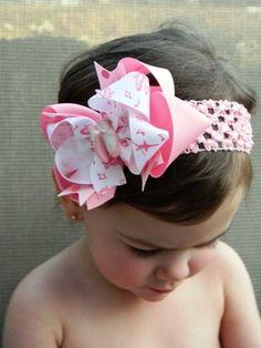 Ballerina Princess Boutique Hair Bow by theprincessandme on Etsy, $6.50