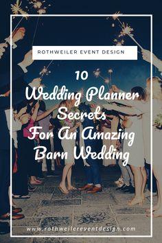 10 Wedding Planner Secrets For Barn Weddings (Part Two! Wedding Advice, Wedding Blog, Wedding Ideas, Wedding Decor, Wedding Ceremony, Outdoor Wedding Inspiration, Backyard Weddings, Barn Weddings, Outdoor Weddings