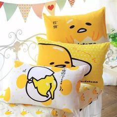 Gudetama Lazy Egg Rectangle Pillow - Totemo Kawaii Shop
