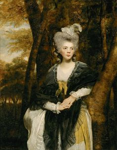 """paintingses: """" """" Portrait of Lady Frances Finch by Sir Joshua Reynolds (1723-1792) oil on canvas, 1781-2 """" """""""