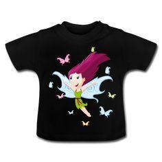 ... vêtements GraphiCK-Kids · Tee Shirt bébé fée et papillons ef297b5f184