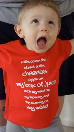 Toddler Shirt  Rollin Down the Street Eatin Cheerios by nlcorder, $16.99