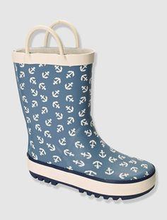 Ces bottes changent de couleur sous l'effet de la pluie ou de l'eau !!    COMPOSITION Dessus: caoutchouc Doublure: coton, polyester&nbs