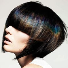 oil slick hair colour - Google Search