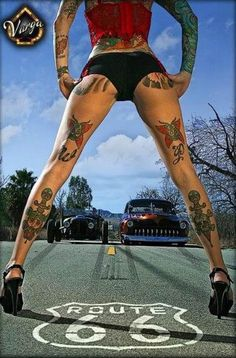 Girls and Hot Rods and Rat Rods! | repinned by www.BlickeDeeler.de | Follow us on www.facebook.com/blickedeeler