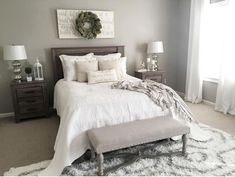 Rustic farmhouse style master bedroom ideas (21)