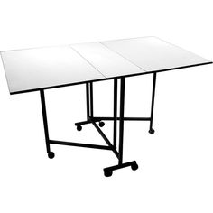 Home Portable Craft Table Quilting Sewing Cutting Work Workstation Folding Desk #Sullivans