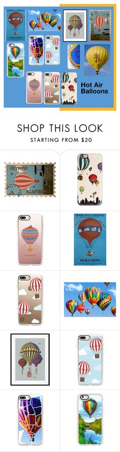 """""""Hot Air Balloons!"""" by lheijl ❤ liked on Polyvore featuring Charlotte Olympia, Casetify and Eleanor Stuart"""