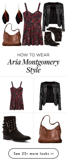 """AriA Montgomery inspired"" by multifandombitch-dealwithit on Polyvore"