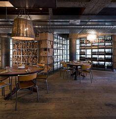 Pizza East - Picture gallery #architecture #interiordesign #restaurant #wood