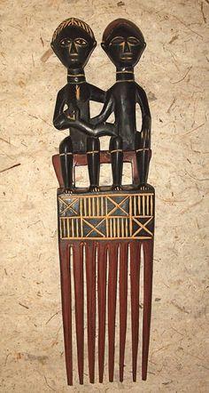 African Akan Wedding Comb new Fair Trade Africa dwwc6 | eBay