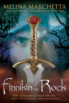 THIS EXCEPTIONAL FANTASY CONTAINS SOME VERY MEMORABLE CHARACTERS AND QUITE A FEW PLOT TWISTS. THOSE READERS WHO ENJOYED GRACELING WILL LOVE FINNIKIN OF THE ROCK.