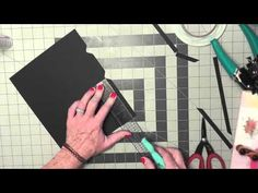 Altered Composition Book Planner Tutorial Video 3 - YouTube