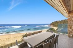 Fantastic views from the deck: SEABOARD, FORRESTERS BEACH (beachfront) in…