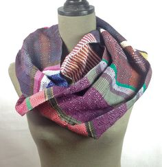 New to pidgepidge on Etsy: Jasmine Cozy Scarf, Acrylic Wool, Wearable Art, Autumn Winter Fashion, Jasmine, Pink Purple, Lush, Women Accessories, Hand Weaving