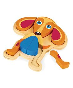 Take a look at this Tan Dog Puzzle by Oops on @zulily today!