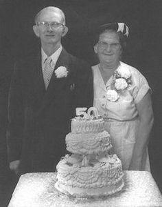 Grandparents Jesse And Mary 50th Wedding Anniversary.