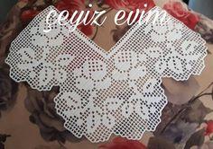 Filet Crochet, Crochet Motif, Crochet Designs, Crochet Boarders, Crochet Dollies, Crochet Curtains, Doily Patterns, Love Crochet, Doilies