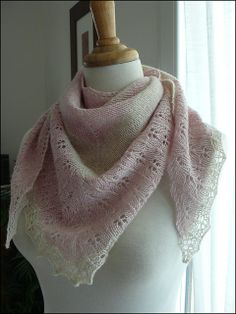 Free Pattern: Oaklet Shawl by Megan Goodacre.