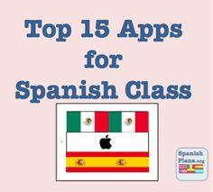 Top 15 Apps para espanol (et pour le français!)