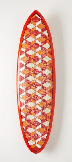 custom Roxy surfboard #DAREYOURSELF