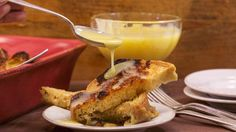 Clodagh McKenna's Bread and Butter Pudding with Whiskey Salted Caramel Recipe