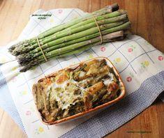 Asparagus, Pasta, Vegetables, Food, Studs, Essen, Vegetable Recipes, Meals, Yemek