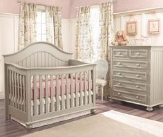 One Project Nursery reader will win the Echelon Nantucket Convertible Crib in Dove Grey by Muniré (a $600 value).