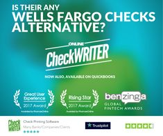 Print Wells Fargo Checks on Demand Online on High-Quality Blank Check Paper - save - with Blank Check Printing Software. Order Checks Online, Payroll Checks, Check Mail, Blank Check, A State Of Trance, Writing Software, Business Checks, Bank Of America, Check Printing