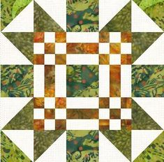 This is the New Mexico block. There is a link to a free pattern for making this block here. #quilt #quilt-block #new-mexico-quilt-block #scrapdash