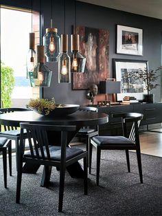 Home Decoration For Ganpati Modern Interior Design, Interior Design Inspiration, Sweet Home, Piece A Vivre, Elegant Homes, Room Colors, Wall Colors, Decor Room, Home Furnishings