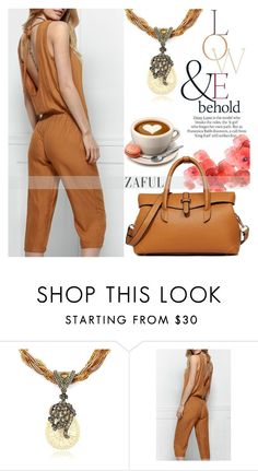 """#1 11.03"" by edita-m ❤ liked on Polyvore featuring ASOS and zaful"