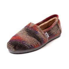 Shop for Womens TOMS Classic Friday Slip-On Casual Shoe in Multi at Journeys Shoes. Shop today for the hottest brands in mens shoes and womens shoes at Journeys.com.We all need cold-weather staples that are cute, comfortable and cozy. A rich, wool upper and toasty, fleece liner accomplish the aforementioned trifecta quite nicely. Available only online at Journeys.com and SHIbyJourneys.com!Features include TOMS toe-stitch, and elastic V for easy on and off TOMS classic suede insole with ...