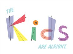 Dribbble - The kids are alright by Scot Criswell